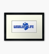 Wobbly Life Framed Print