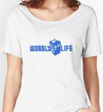 Wobbly Life Women's Relaxed Fit T-Shirt