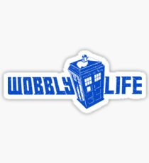 Wobbly Life Sticker