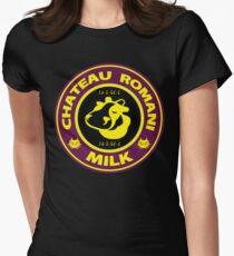 Legend of Zelda: Majora's Mask Chateau Romani Milk Womens Fitted T-Shirt