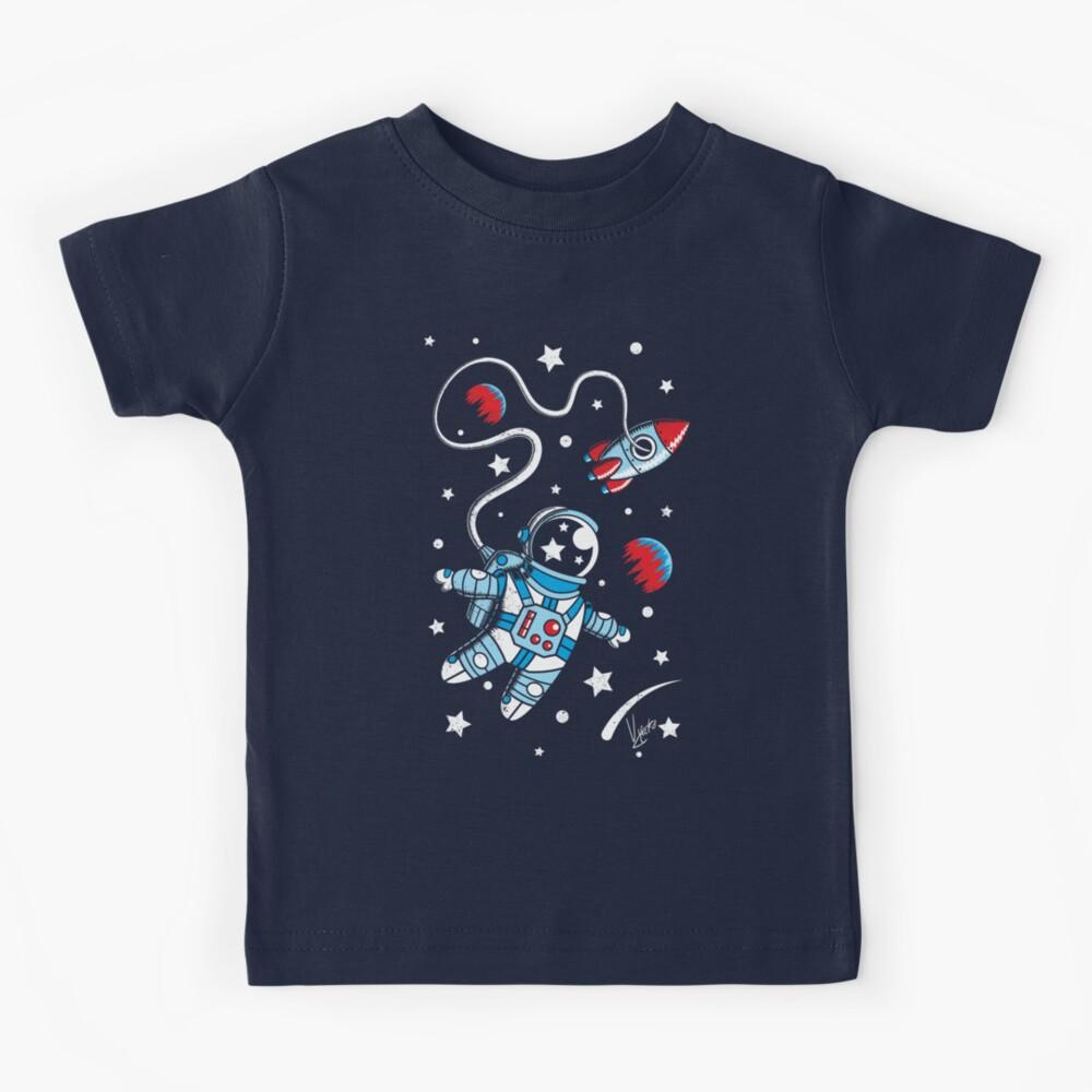 Space Walk Kids T-Shirt