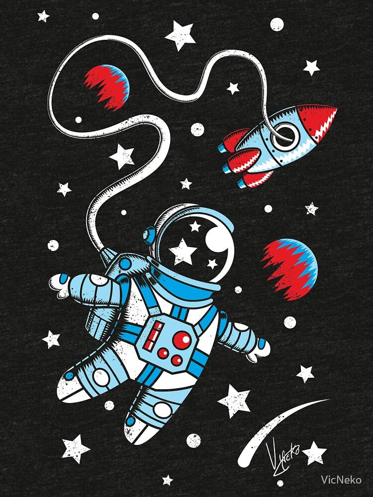 Space Walk by VicNeko