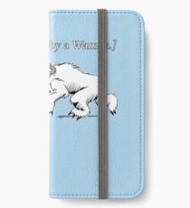 William Shakespeare's Star Wars: Exit, pursued by Wampa iPhone Wallet/Case/Skin