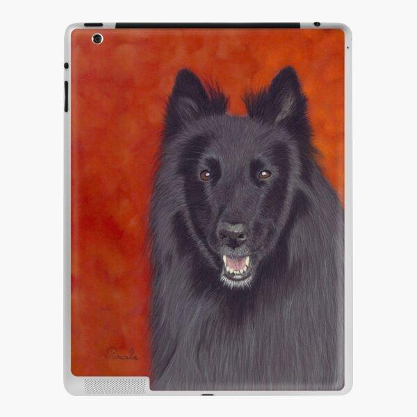 Groenendael portrait iPad Skin
