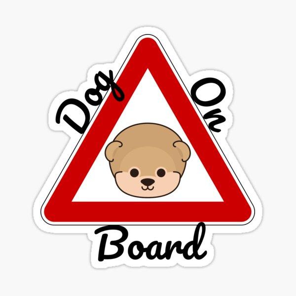 Dog On Board Sticker
