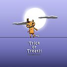 Trick or Treat?  Ringo the Ringtail Possum Halloween. by eddcross