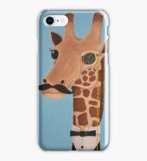 Gentleman Giraffe iPhone Case/Skin