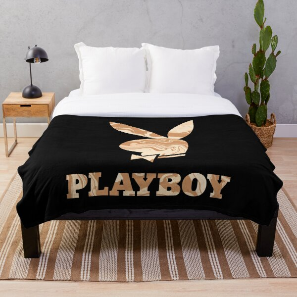 Playboy bunny aesthetics liquify funky cool y2k Throw Blanket