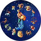 Aqaurius Clock Star Signs Horoscope by Gotcha29