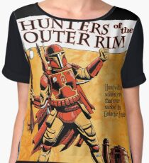 Bounty Hunters of the Outer Rim Chiffon Top
