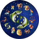 Pisces Clock Star Signs Horoscope by Gotcha29