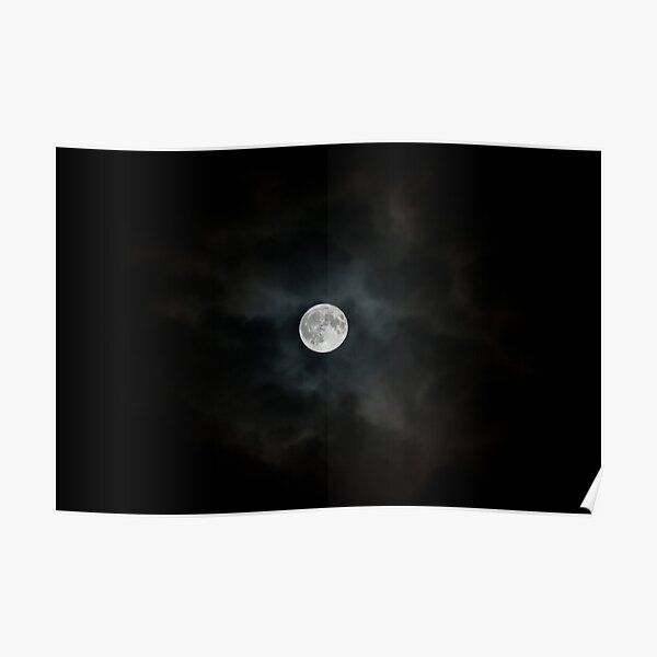Blue Moon - Photographic Print Poster