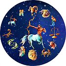 Sagitarius Clock Star Signs Horoscope by Gotcha29