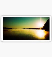 Sunrise near Mannum Sticker