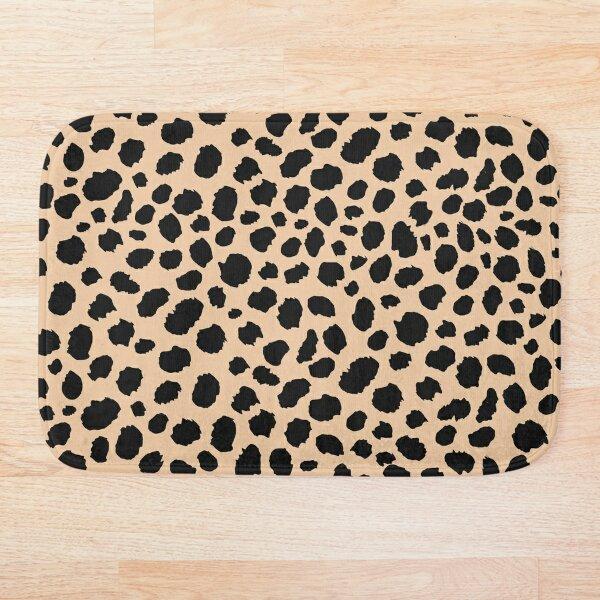 Leopard print design  Bath Mat