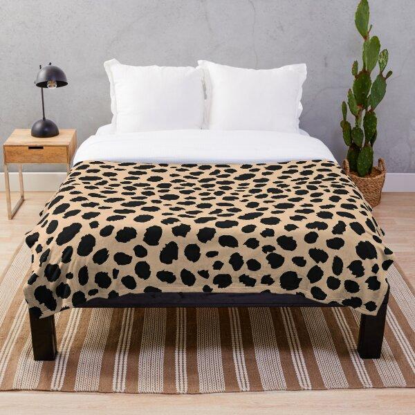Leopard print design  Throw Blanket