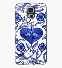 Flowers Sing the Blues by IdeaJones Case/Skin for Samsung Galaxy
