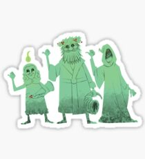 Cybernetic Ghost Of Christmas Past From The Future.Ghost Of Christmas Past Stickers Redbubble