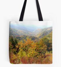 Smoky Scenery Tote Bag
