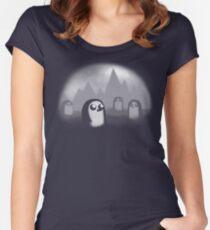 Evil Penguin Women's Fitted Scoop T-Shirt