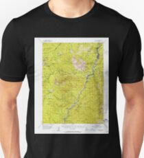 USGS TOPO Map California CA Dunsmuir 297366 1954 62500 geo T-Shirt