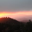 West from Clingman's Dome by Asoka