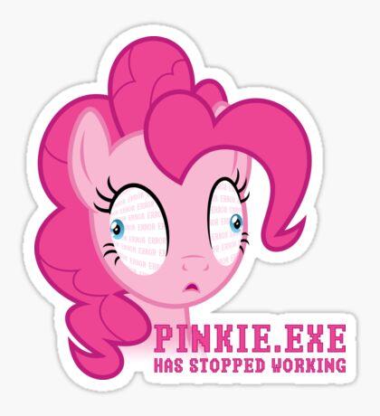 PINKIE.EXE Sticker