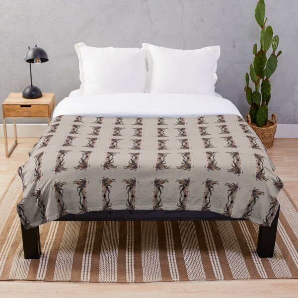 SpringFall Deity ~ Pattern Throw Blanket