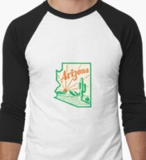 Arizona Cactus Vintage Travel Decal T-Shirt