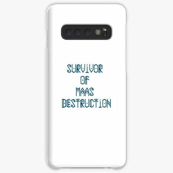 Survivor of Maas Destruction Samsung Galaxy Snap Case