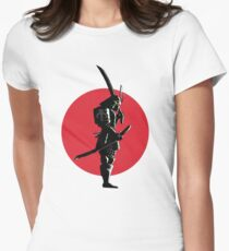 Bounty Hunter Samurai Womens Fitted T-Shirt