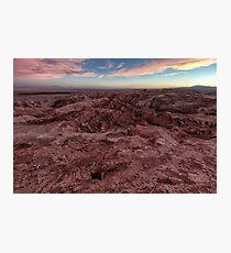 Atacama sunset  Photographic Print