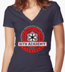 Sith Academy - Limited Edition Women's Fitted V-Neck T-Shirt