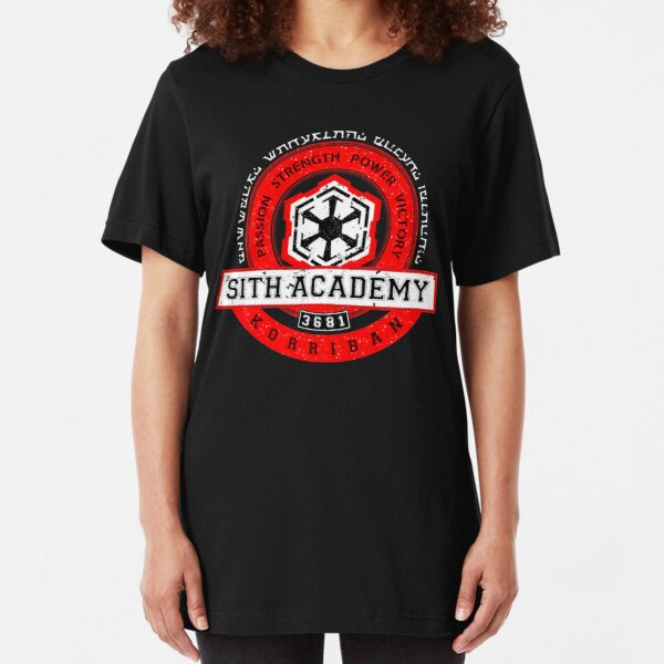 Sith Academy - Limited Edition Slim Fit T-Shirt