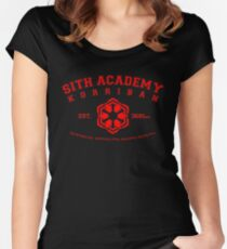 Sith Academy - Limited Edition Women's Fitted Scoop T-Shirt