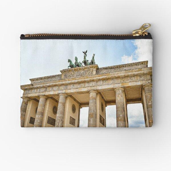 Berlin - Brandenburg Gate - Photographic Print Zipper Pouch