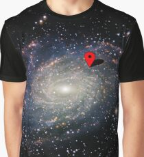 You are here - GPS Graphic T-Shirt