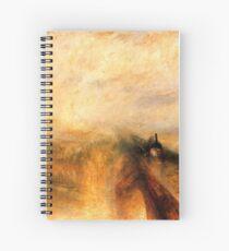 Rain, Steam and Speed turner Spiral Notebook