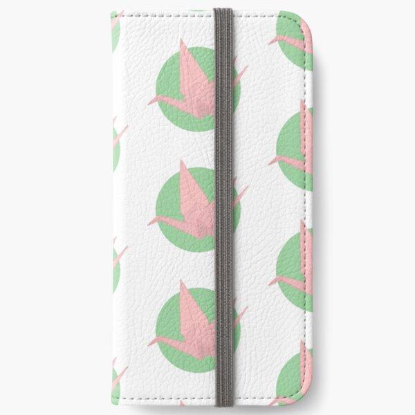 paper crane iPhone Wallet