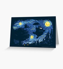 A Night for Spirits Greeting Card