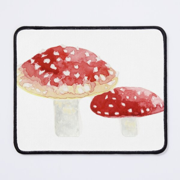 Watercolour Toadstools  Mouse Pad