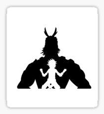 Hero All Might Sticker