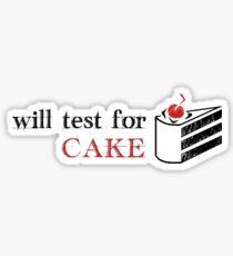 TestForcake Sticker