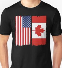 American Canadian Unisex T-Shirt