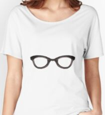 Nerd Glasses Women's Relaxed Fit T-Shirt