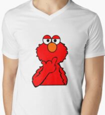 Elmo is Out of Fucks to Give Mens V-Neck T-Shirt