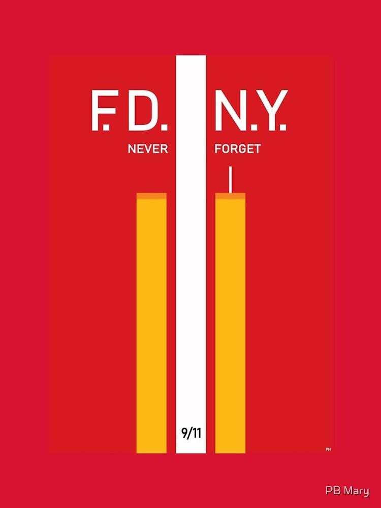 «Service d'incendie New York FDNY 9 11 Firehouse Patriot USA» par Valtoria