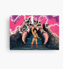 He-man Transform Filmation style Canvas Print