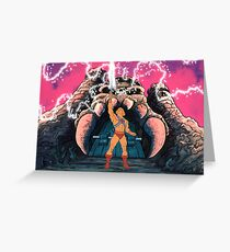 He-man Transform Filmation style Greeting Card