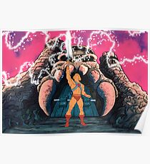 He-man Transform Filmation style Poster